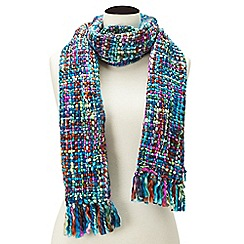 Joe Browns - Blue chunky and funky scarf