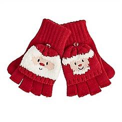 Joe Browns - Multi coloured Mr and Mrs santa gloves