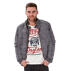 Joe Browns - Grey double cool bomber jacket