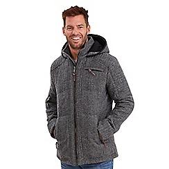Joe Browns - Grey amazing padded biker jacket
