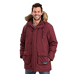 Joe Browns - Dark red blaze parka