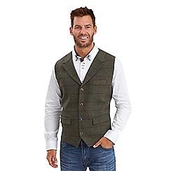 Joe Browns - Green mix it up waistcoat