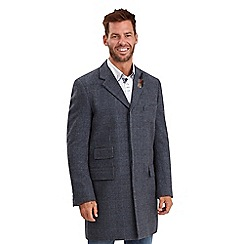 Joe Browns - Blue check me out overcoat