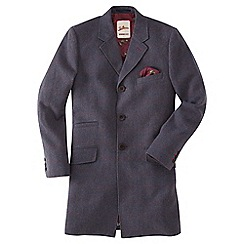 Joe Browns - Dark mauve check me out overcoat