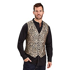 Joe Browns - Gold on the stage waistcoat
