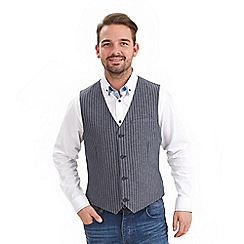 Joe Browns - Grey perfect pinstripe waistcoat
