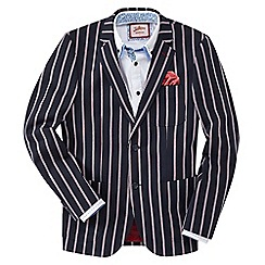 Joe Browns - Dark blue striking stripe blazer