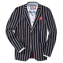 Joe Browns - Dark blue striking stripe blazer