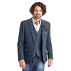 Joe Browns - Blue cracking combination waistcoat