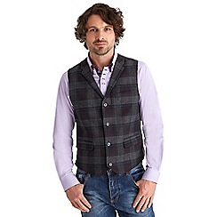 Joe Browns - Multi coloured remarkable check waistcoat