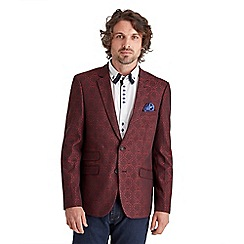 Joe Browns - Red jacquard blazer