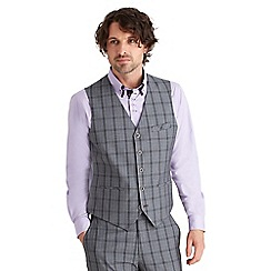 Joe Browns - Grey charming check suit waistcoat