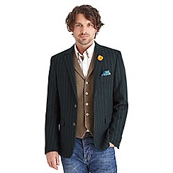 Joe Browns - Dark green sterling stripe blazer