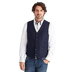 Joe Browns - Navy lovely linen waistcoat