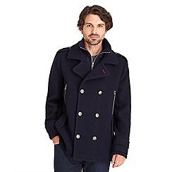 Joe Browns - Navy harbour coat