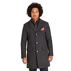Joe Browns - Grey double your dollar overcoat