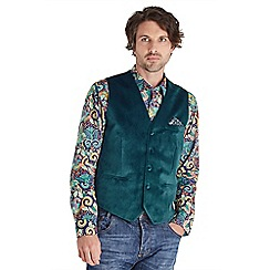 Joe Browns - Dark turquoise perfect party waistcoat