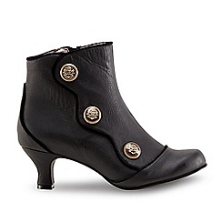 Joe Browns - Black 'Simply Divine' mid kitten heel ankle boots