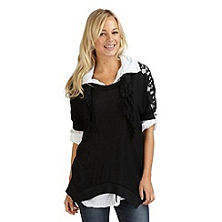 Joe Browns - Black does it all 3 piece blouse