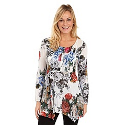 Joe Browns - Multi coloured vintage floral blouse