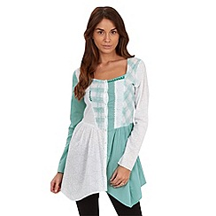 Joe Browns - Turquoise mix it up blouse