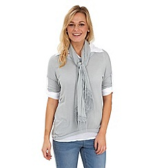 Joe Browns - Grey easy wearing 3 piece shirt
