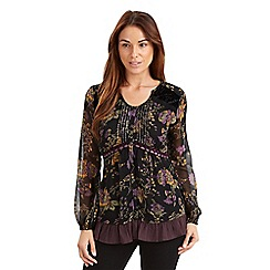 Joe Browns - Multi coloured winter floral blouse