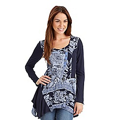 Joe Browns - Blue all new mystical mix it up blouse