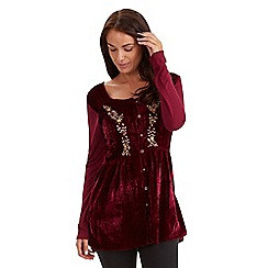 Joe Browns - Red regal blouse