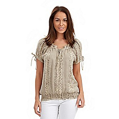 Joe Browns - Natural gypsy top