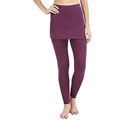 Joe Browns - Purple essential 2 in 1 leggings