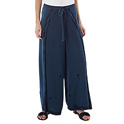 Joe Browns - Blue wonderful wrap around trousers