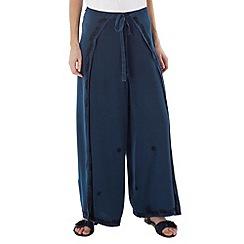 Joe Browns - Blue wonderful wrap around trousers