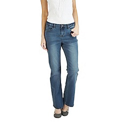 Joe Browns - Mid blue boot cut beauty jeans