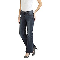 Joe Browns - Dark blue boot cut beauty jeans