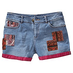 Joe Browns - Blue argentinian denim shorts