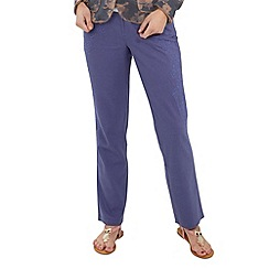 Joe Browns - Blue luxurious linen trousers