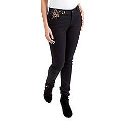 Joe Browns - Black embroidered must have jeans
