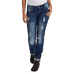Joe Browns - Mid blue side stitch detail jeans