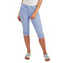 Joe Browns - Pale blue capri pants