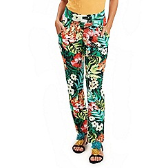 Joe Browns - Multi coloured tropical jersey pants