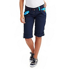 Joe Browns - Navy tropical detail shorts