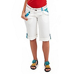Joe Browns - White tropical detail shorts