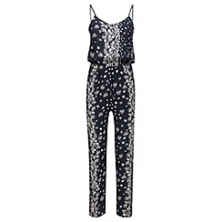 Joe Browns - Navy daisy jumpsuit
