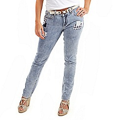 Joe Browns - Blue patchwork jeans