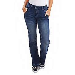 Joe Browns - Dark blue flare jeans