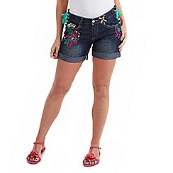 Joe Browns - Blue funky festival shorts