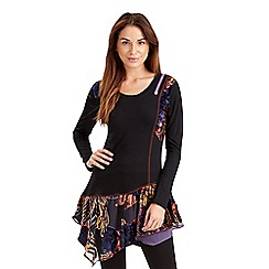 Joe Browns - Multi coloured delightful devore tunic