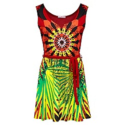 Joe Browns - Multi coloured mexican spirit tunic