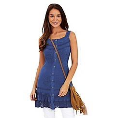 Joe Browns - Dark blue effortlessly elegant tunic